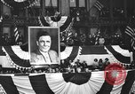 Image of Presidential candidate Wendell Willkie on the campaign trail Bloomington Illinois USA, 1940, second 36 stock footage video 65675053248