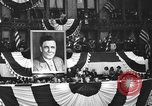 Image of Presidential candidate Wendell Willkie on the campaign trail Bloomington Illinois USA, 1940, second 37 stock footage video 65675053248