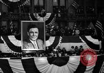 Image of Presidential candidate Wendell Willkie on the campaign trail Bloomington Illinois USA, 1940, second 45 stock footage video 65675053248