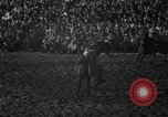 Image of bucking horses Los Angeles California USA, 1940, second 27 stock footage video 65675053253