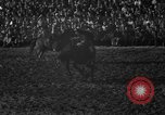 Image of bucking horses Los Angeles California USA, 1940, second 29 stock footage video 65675053253