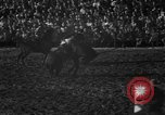 Image of bucking horses Los Angeles California USA, 1940, second 30 stock footage video 65675053253