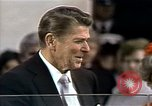 Image of Ronald Reagan Washington DC USA, 1981, second 32 stock footage video 65675053264