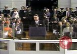 Image of President Ronald Reagan Washington DC USA, 1981, second 2 stock footage video 65675053267