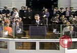 Image of President Ronald Reagan Washington DC USA, 1981, second 18 stock footage video 65675053267