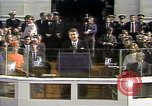 Image of President Ronald Reagan Washington DC USA, 1981, second 20 stock footage video 65675053267