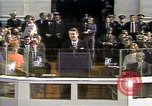 Image of President Ronald Reagan Washington DC USA, 1981, second 21 stock footage video 65675053267