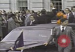 Image of President Ronald Reagan Washington DC White House USA, 1981, second 9 stock footage video 65675053271