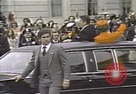 Image of President Ronald Reagan Washington DC White House USA, 1981, second 14 stock footage video 65675053271