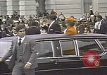 Image of President Ronald Reagan Washington DC White House USA, 1981, second 15 stock footage video 65675053271