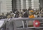 Image of President Ronald Reagan Washington DC White House USA, 1981, second 16 stock footage video 65675053271
