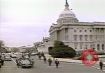Image of President Ronald Reagan Washington DC White House USA, 1981, second 36 stock footage video 65675053271