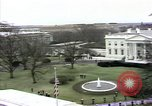 Image of President Ronald Reagan Washington DC White House USA, 1981, second 59 stock footage video 65675053271