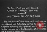 Image of Triumph of the Will Nuremberg Germany, 1934, second 5 stock footage video 65675053272