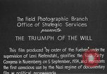 Image of Triumph of the Will Nuremberg Germany, 1934, second 6 stock footage video 65675053272