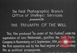 Image of Triumph of the Will Nuremberg Germany, 1934, second 13 stock footage video 65675053272