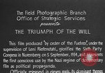 Image of Triumph of the Will Nuremberg Germany, 1934, second 14 stock footage video 65675053272