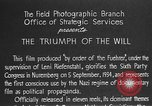 Image of Triumph of the Will Nuremberg Germany, 1934, second 15 stock footage video 65675053272