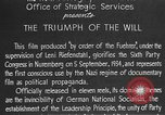 Image of Triumph of the Will Nuremberg Germany, 1934, second 18 stock footage video 65675053272