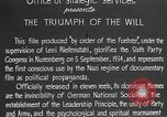 Image of Triumph of the Will Nuremberg Germany, 1934, second 19 stock footage video 65675053272