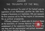 Image of Triumph of the Will Nuremberg Germany, 1934, second 20 stock footage video 65675053272
