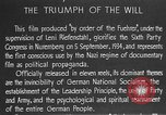 Image of Triumph of the Will Nuremberg Germany, 1934, second 21 stock footage video 65675053272