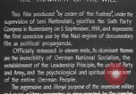 Image of Triumph of the Will Nuremberg Germany, 1934, second 23 stock footage video 65675053272