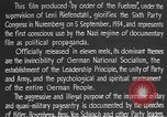 Image of Triumph of the Will Nuremberg Germany, 1934, second 25 stock footage video 65675053272