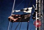 Image of Navy burial at sea Pacific Ocean, 1944, second 14 stock footage video 65675053282