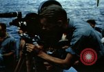 Image of Navy burial at sea Pacific Ocean, 1944, second 17 stock footage video 65675053282