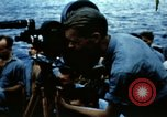 Image of Navy burial at sea Pacific Ocean, 1944, second 18 stock footage video 65675053282