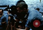 Image of Navy burial at sea Pacific Ocean, 1944, second 19 stock footage video 65675053282