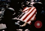 Image of Navy burial at sea Pacific Ocean, 1944, second 28 stock footage video 65675053282