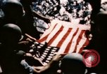 Image of Navy burial at sea Pacific Ocean, 1944, second 31 stock footage video 65675053282