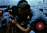 Image of Navy burial at sea Pacific Ocean, 1944, second 33 stock footage video 65675053282