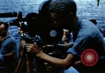 Image of Navy burial at sea Pacific Ocean, 1944, second 34 stock footage video 65675053282