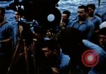 Image of Navy burial at sea Pacific Ocean, 1944, second 36 stock footage video 65675053282