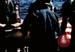Image of Navy burial at sea Pacific Ocean, 1944, second 38 stock footage video 65675053282