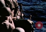 Image of Navy burial at sea Pacific Ocean, 1944, second 40 stock footage video 65675053282