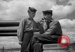 Image of sailors on deck Corregidor Island Philippines, 1945, second 14 stock footage video 65675053294