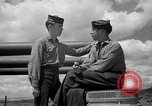 Image of sailors on deck Corregidor Island Philippines, 1945, second 16 stock footage video 65675053294