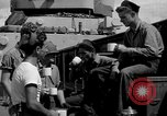 Image of sailors on deck Corregidor Island Philippines, 1945, second 27 stock footage video 65675053294