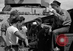 Image of sailors on deck Corregidor Island Philippines, 1945, second 28 stock footage video 65675053294