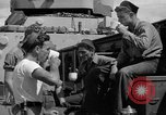 Image of sailors on deck Corregidor Island Philippines, 1945, second 29 stock footage video 65675053294