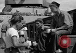 Image of sailors on deck Corregidor Island Philippines, 1945, second 30 stock footage video 65675053294
