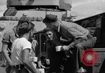 Image of sailors on deck Corregidor Island Philippines, 1945, second 31 stock footage video 65675053294