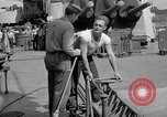 Image of sailors on deck Corregidor Island Philippines, 1945, second 42 stock footage video 65675053294