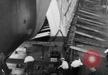Image of USS Santa Fe CL-60 Camden New Jersey USA, 1942, second 61 stock footage video 65675053296