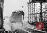 Image of cruiser USS Santa Fe CL-60 Camden New Jersey USA, 1942, second 15 stock footage video 65675053297