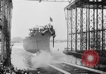 Image of cruiser USS Santa Fe CL-60 Camden New Jersey USA, 1942, second 16 stock footage video 65675053297